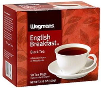 Wegmans Black Tea English Breakfast