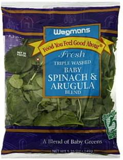 Wegmans Baby Spinach & Arugula Blend Fresh