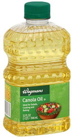 Wegmans Canola Oil - 32 oz
