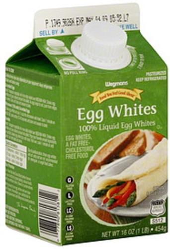 Wegmans Liquid Egg Whites - 16 oz