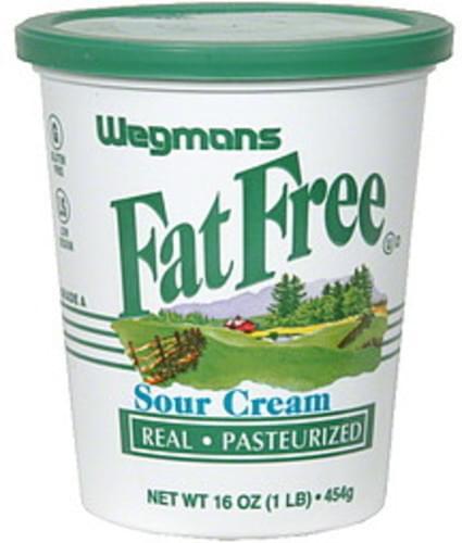 Wegmans Sour Cream - 16 oz