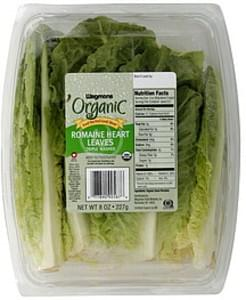 Wegmans Romaine Heart Leaves Organic