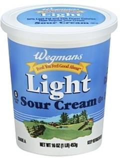 Wegmans Sour Cream Light