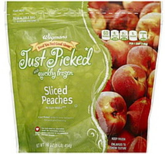 Wegmans Sliced Peaches - 16 oz