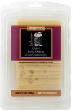 Wegmans Cheese Swiss, Light