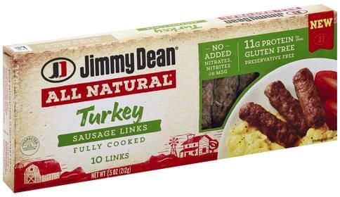 Jimmy Dean Turkey Sausage Links - 10 ea