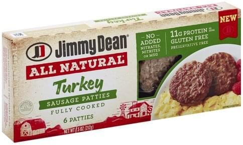 Jimmy Dean Turkey Sausage Patties - 6