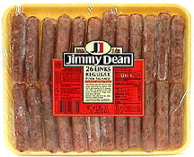 Jimmy Dean Pork Sausage Links, Regular