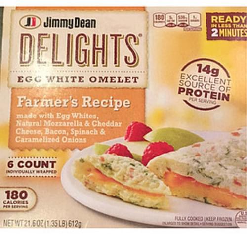 Jimmy Dean Delights Egg White Omelet