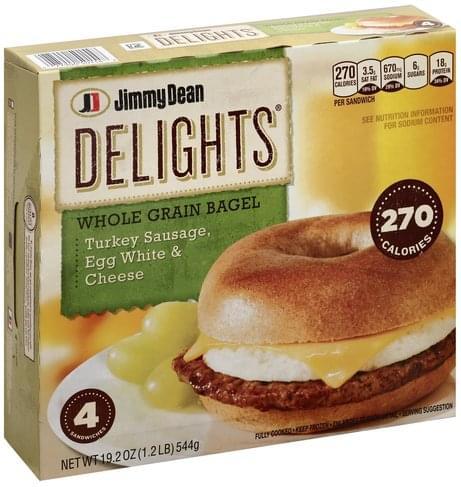 Jimmy Dean Turkey Sausage, Egg White