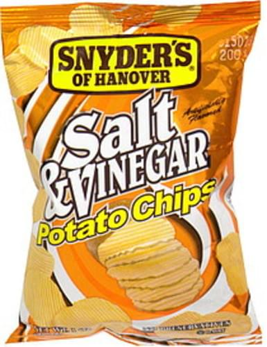 Snyders Salt & Vinegar Potato Chips - 1 oz, Nutrition Information
