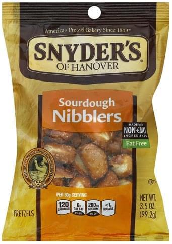 Snyders Sourdough Nibblers Pretzels - 3