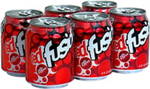 Dr Pepper Soda Red Fusion