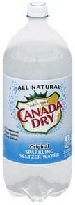 Canada Dry Seltzer Water Sparkling, Original