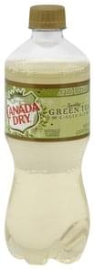 Canada Dry Ginger Ale Sparkling Green Tea