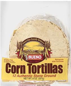 Bueno Corn Tortillas 12 Ct