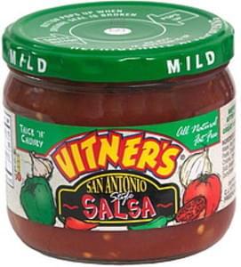 Vitners Thick n' Chunky Salsa Mild