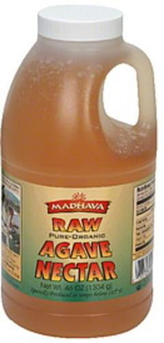 Madhava Agave Nectar Raw, Pure Organic