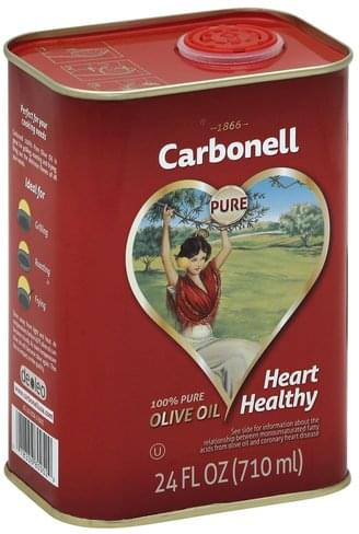 Carbonell 100% Pure Olive Oil - 24 oz, Nutrition Information | Innit