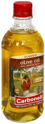 Carbonell Classic Olive Oil - 17 oz, Nutrition Information | Innit