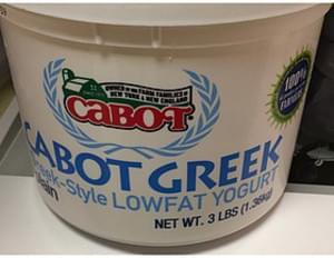 Cabot Cabot Greek Lowfat Yogurt