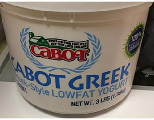 Cabot Cabot Greek Lowfat Yogurt - 226 g