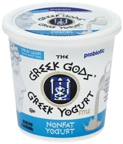Greek Gods Yogurt Greek, Nonfat