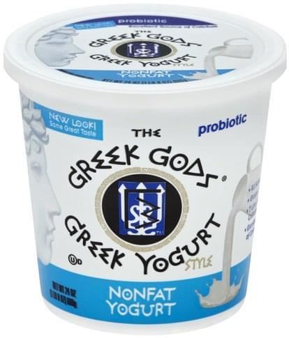 Greek Gods Greek, Nonfat Yogurt - 24 oz
