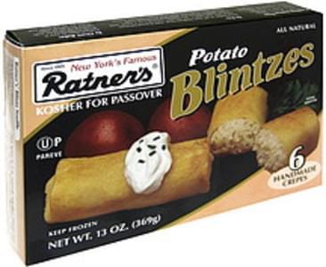 Ratner's Potato Blintzes Handmade Crepes