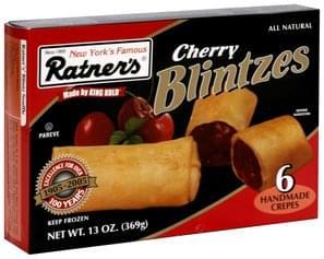 Ratners Cherry Blintzes