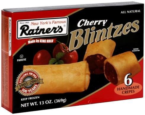 Ratners Cherry Blintzes - 6 ea