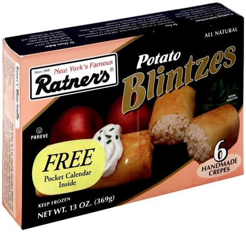 Ratners Potato Blintzes - 13 oz