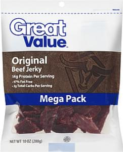 Great Value Beef Jerky Mega Pack Original