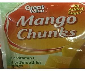 Great Value Mango Chunks