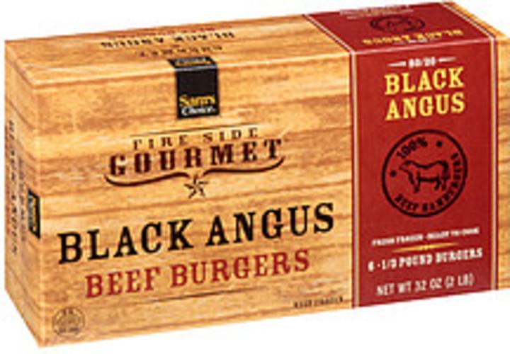 Sam's Choice Fire Side Gourmet 100% Black Angus Beef Patties - 32 oz
