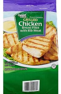Great Value Chicken Breast Fillet with Rib Meat