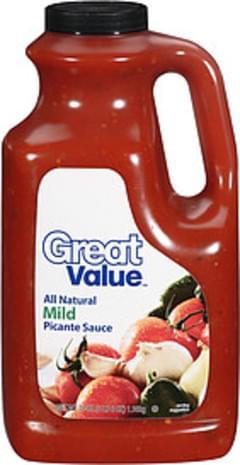 Great Value Picante Sauce Mild