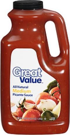 Great Value Picante Sauce Medium