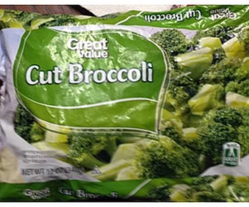 Great Value Cut Broccoli - 87 g