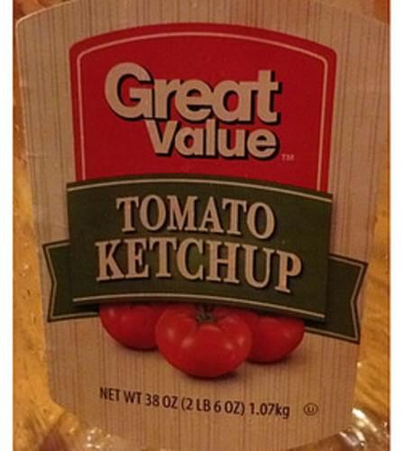 Great Value Tomato Ketchup - 17 g