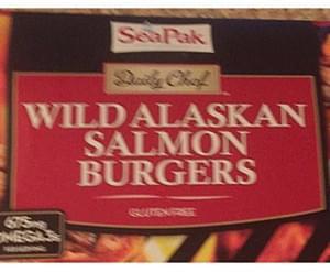 Daily Chef Wild Alaskan Salmon Burgers