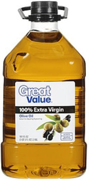 Great Value 100% Extra Virgin Olive Oil - 101 oz