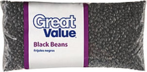 Great Value Beans Black