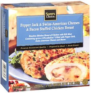 Sam's Choice Stuffed Chicken Breast Pepper Jack & Swiss-American Cheeses & Bacon Stuffed Chicken Breast