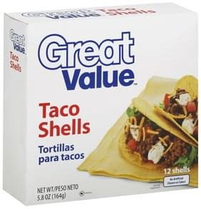 Great Value Taco Shells
