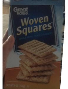 Great Value Woven Squares Crackers