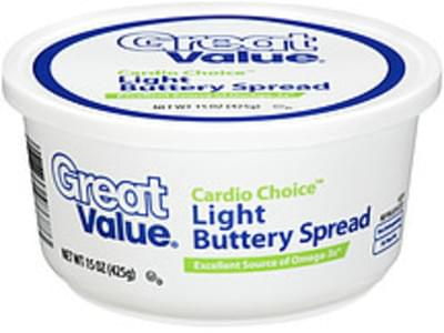 Great Value Buttery Spread Cardio Choice Light