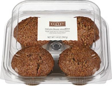 The Bakery At Walmart Chocolate Chip Muffins - 14 oz, Nutrition