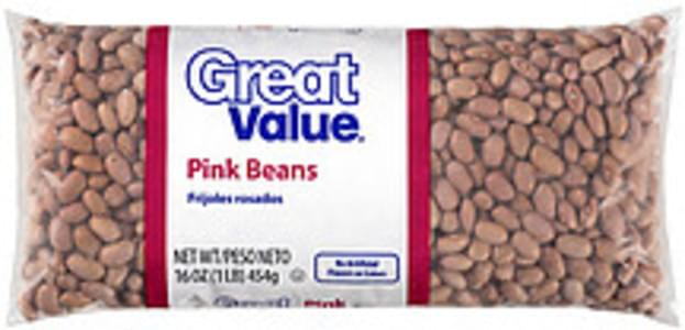 Great Value Beans Pink