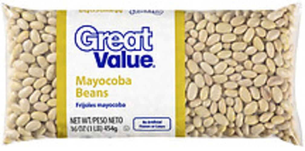 Great Value Mayocoba Beans - 16 oz